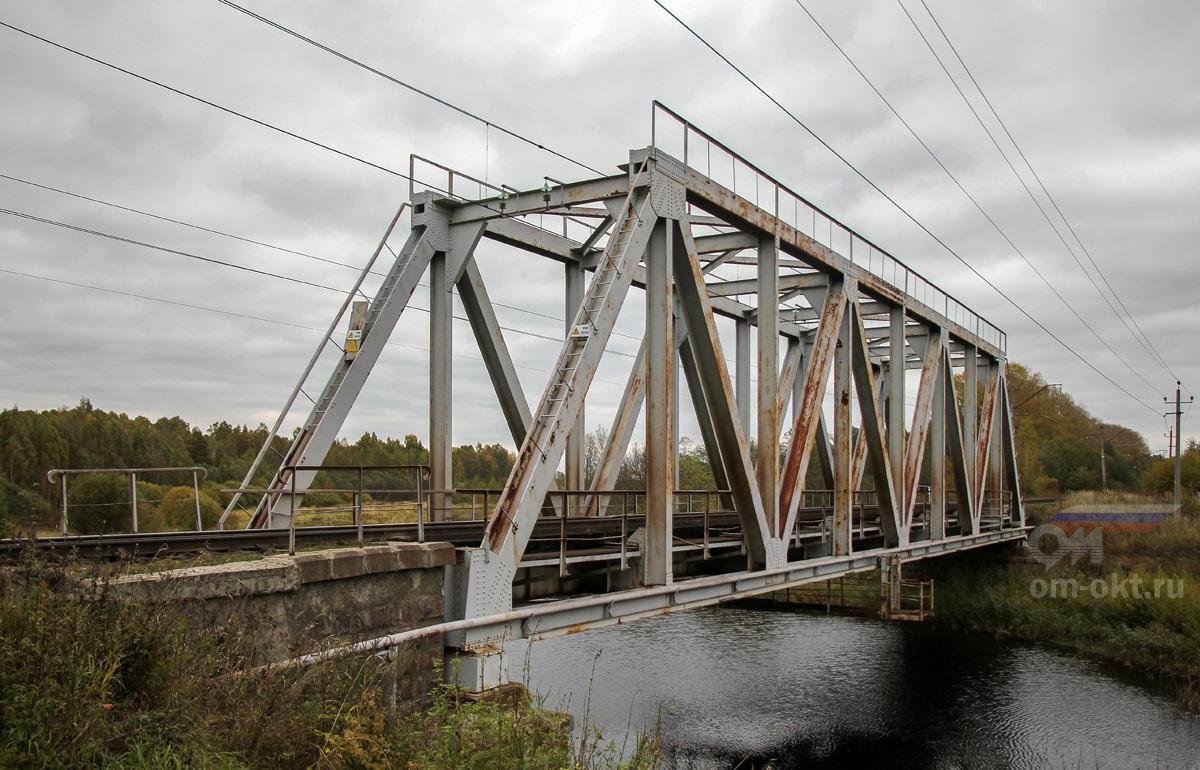 Мост через реку Логовежь, перегон Терешкино - Торжок