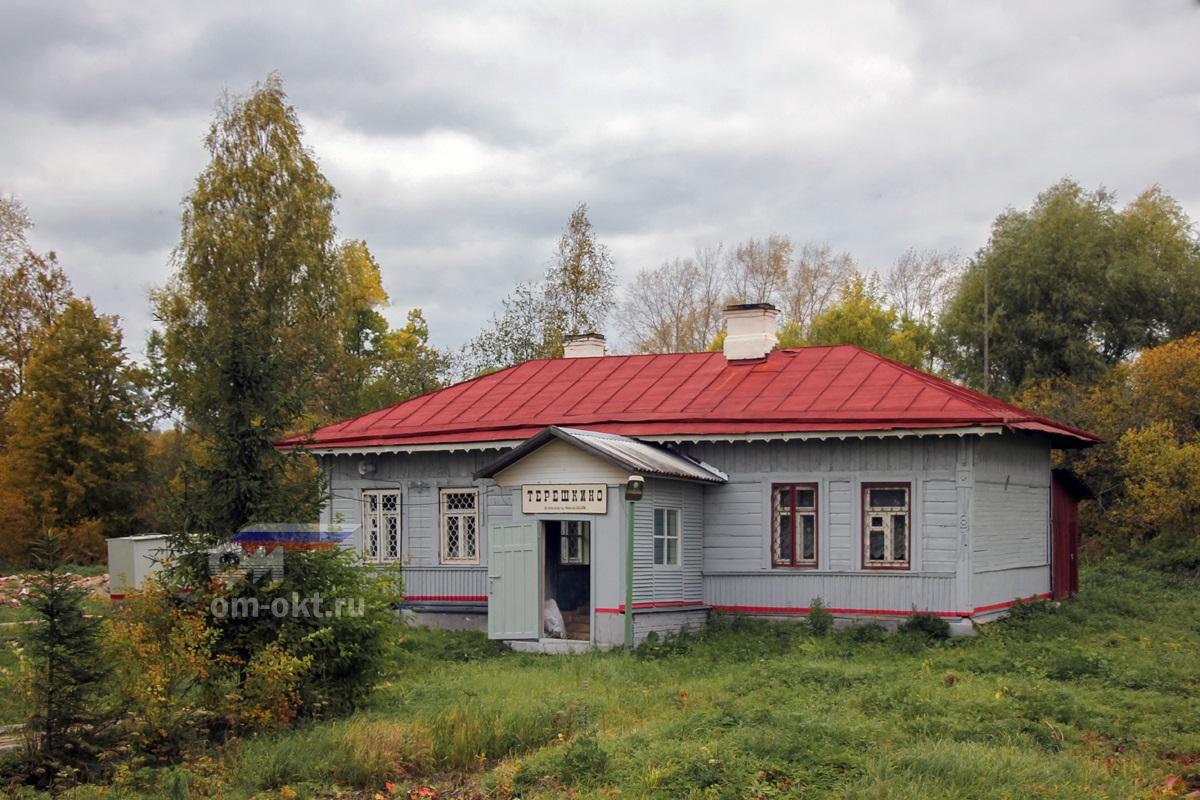 Вокзал станции Терешкино