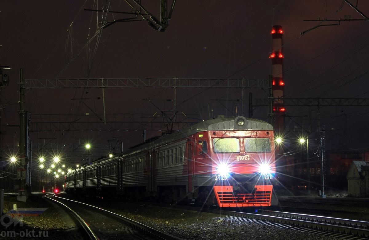 Электропоезд ЭТ2М-138, станция Клин