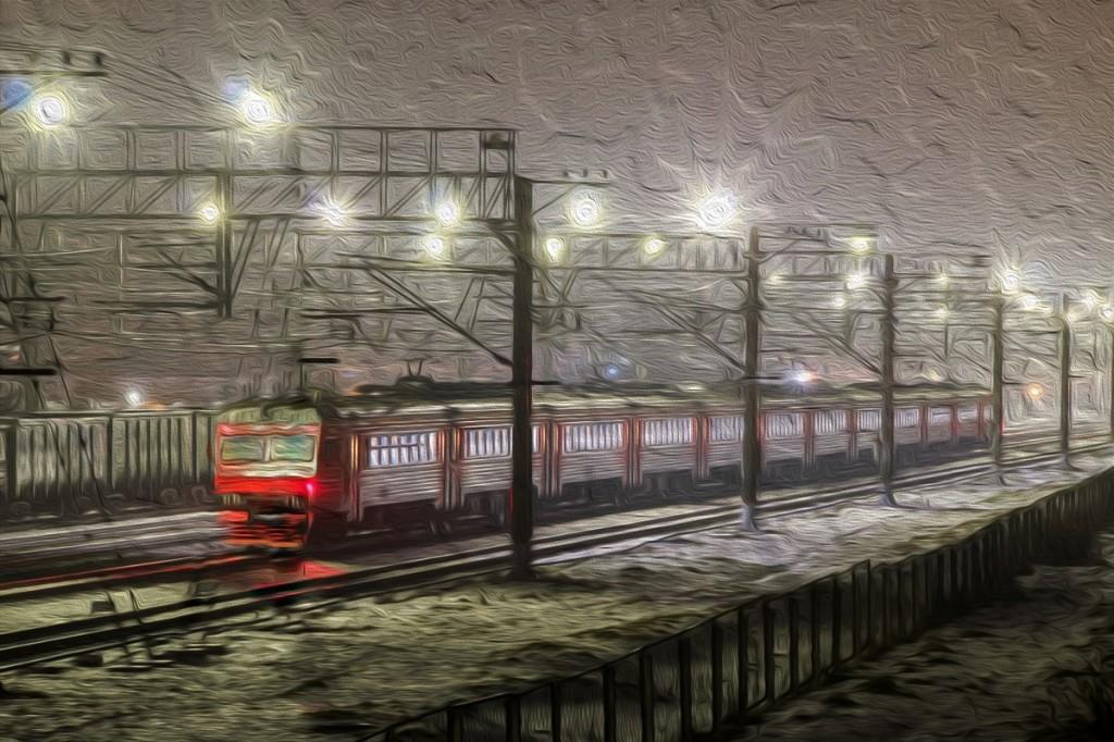 Станция Поварово-I