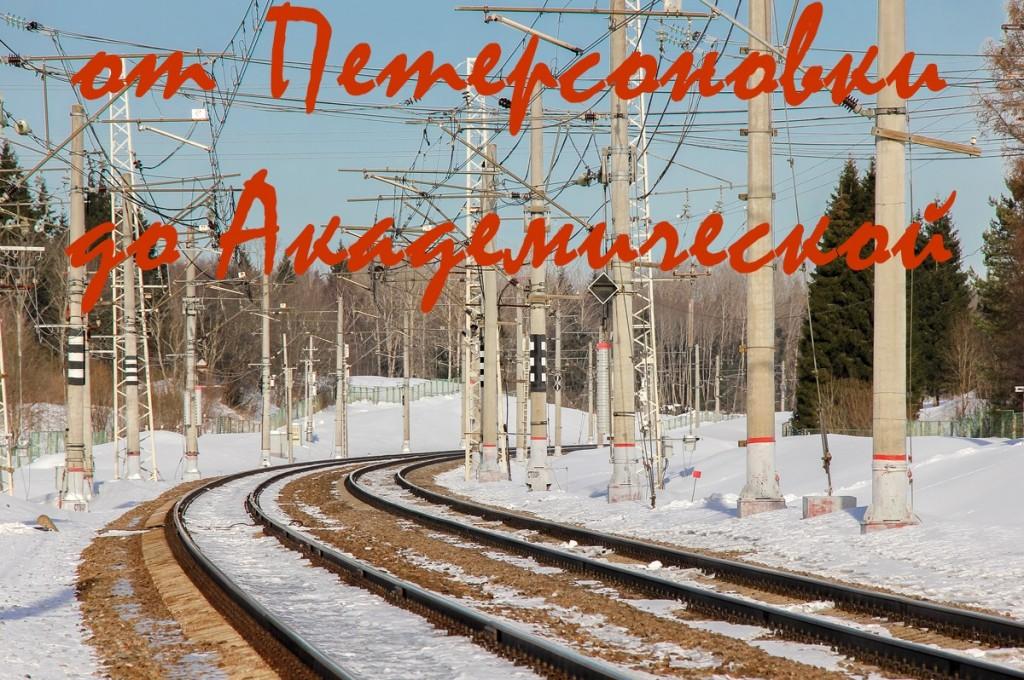 платформа Петерсоновка, станция Академическая