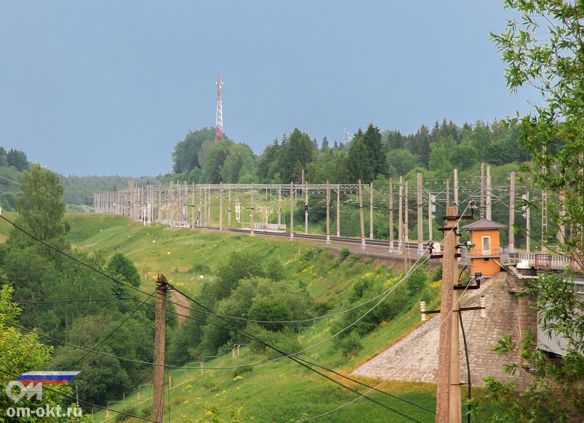 Платформа 190 км., перегон Мстинский мост — Торбино