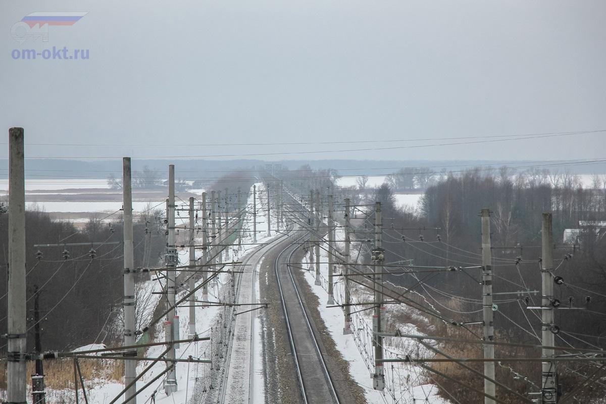 Вид на участок Московское море - Завидово