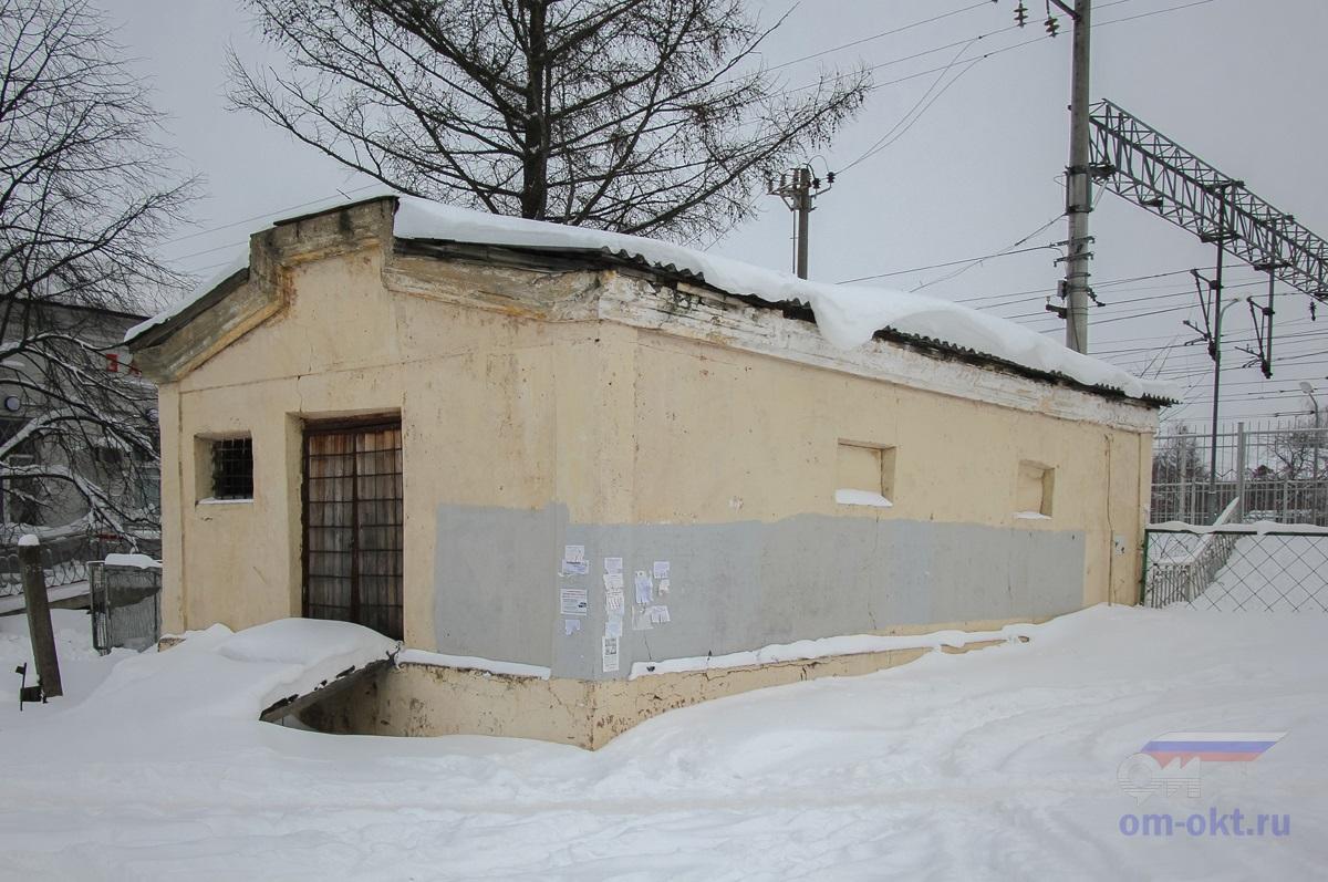 Остатки водонапорной башни на станции Завидово