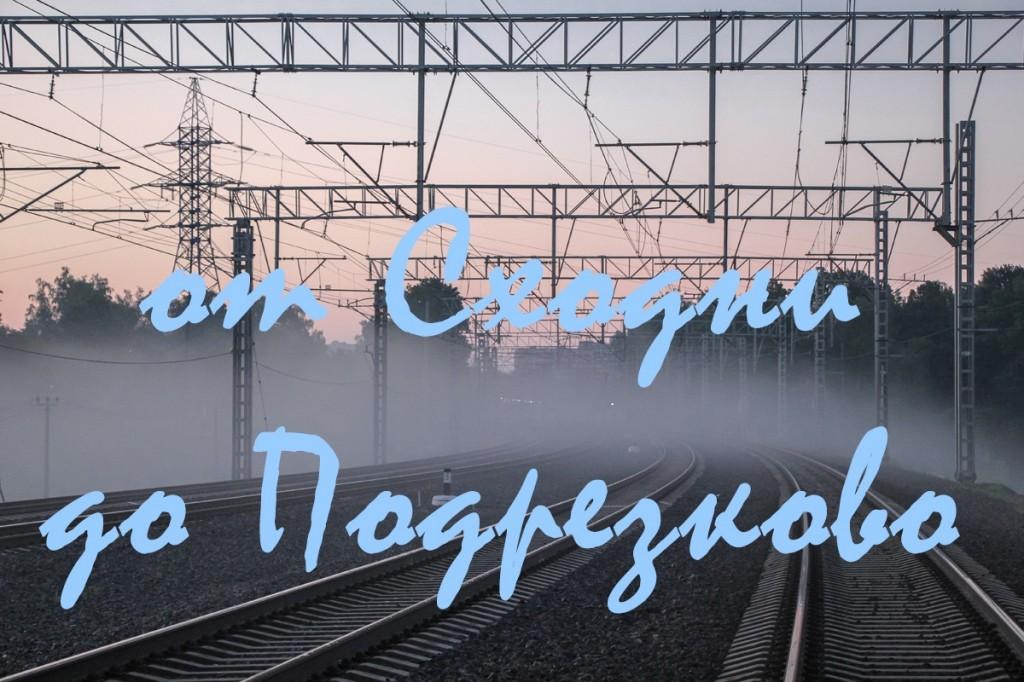Станция Сходня, платформа Подрезково