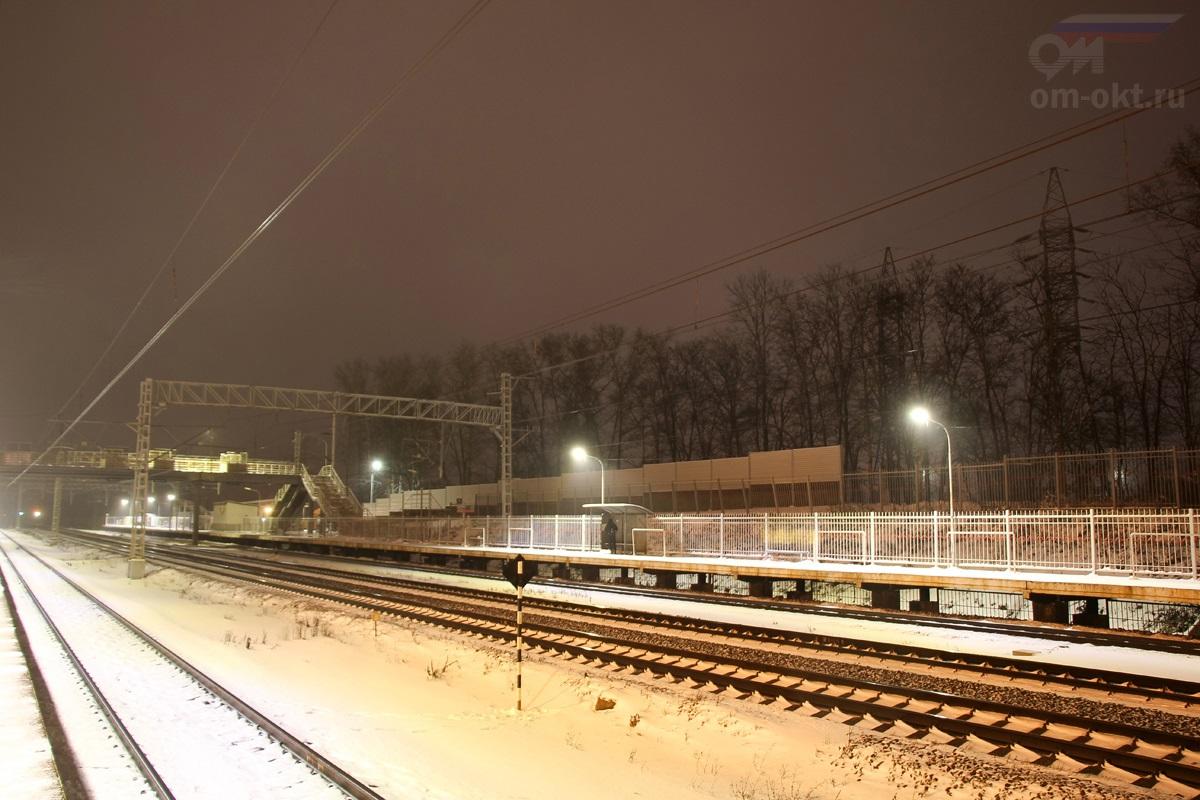 Платформа Новоподрезково «на Москву»