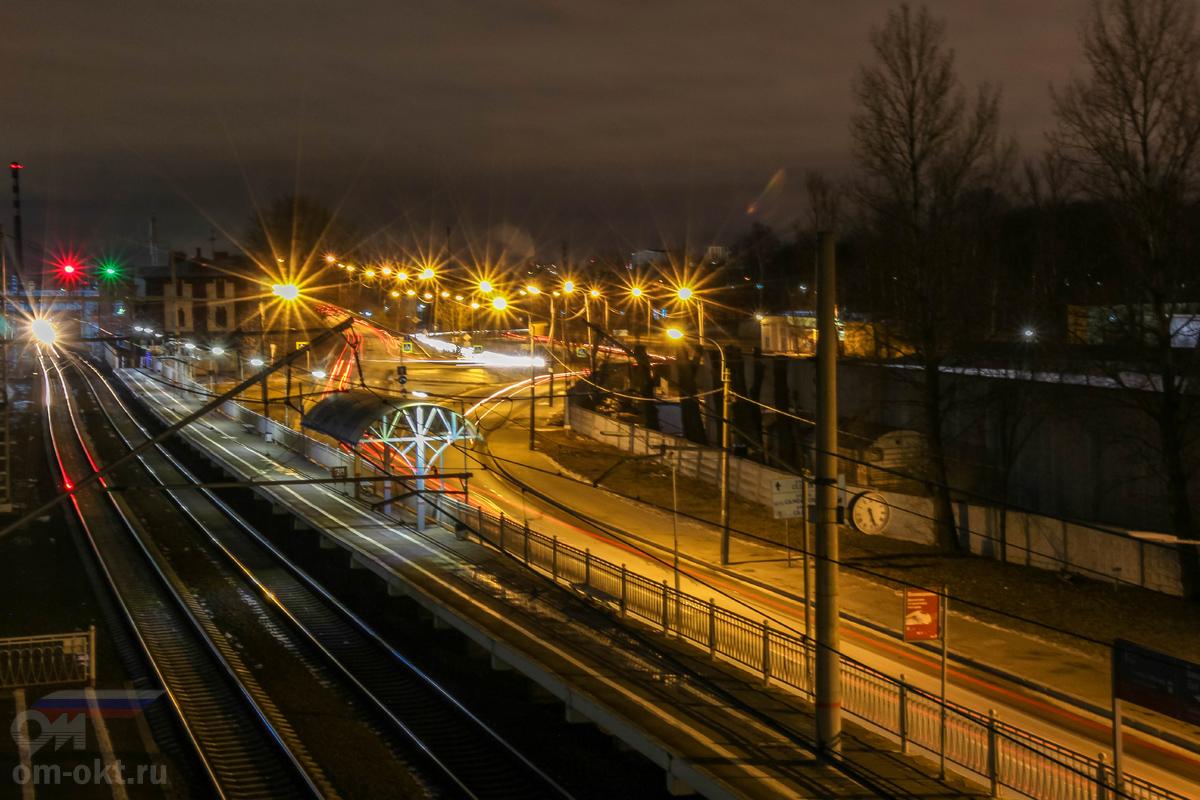 Платформа Навалочная «Из Санкт-Петербурга», вид в сторону Поста 5 км