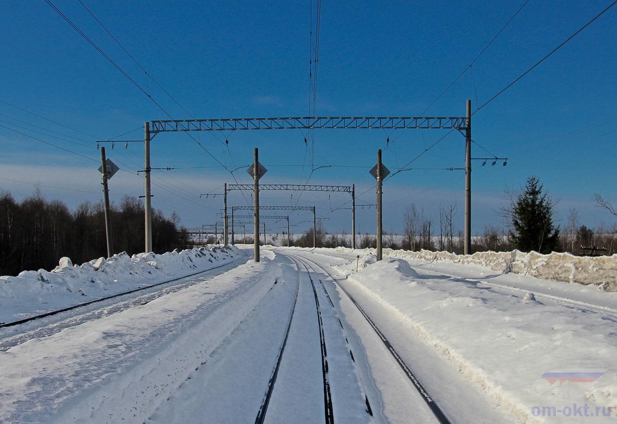 Повторительные светофоры парка Виноколы, ст. Лихославль