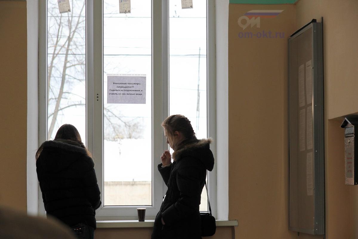 Интерьер вокзала станции Лихославль