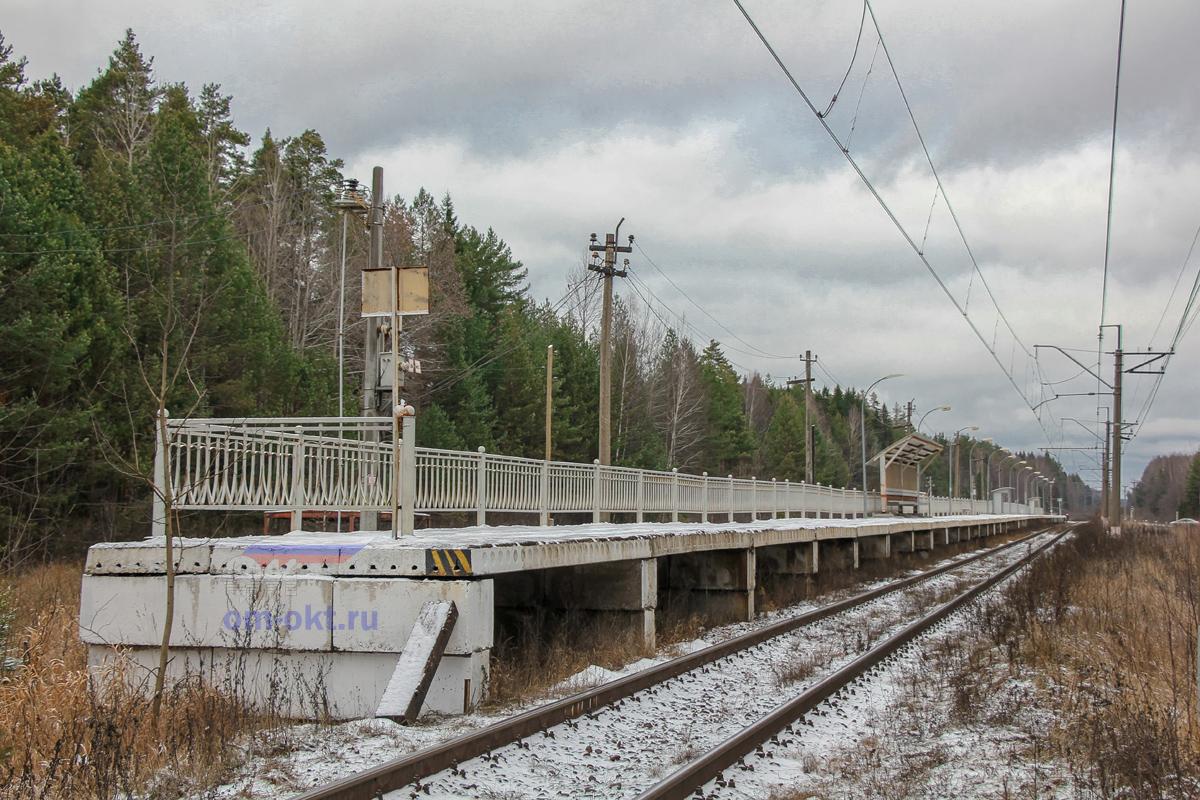 Остановочный пункт Донховка
