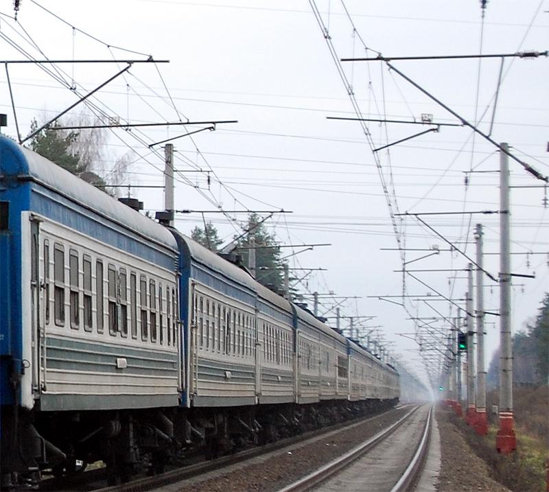 Пассажирские вагоны Роухани Точикистон (Таджикских ЖД), перегон Лихославль - Дорошиха