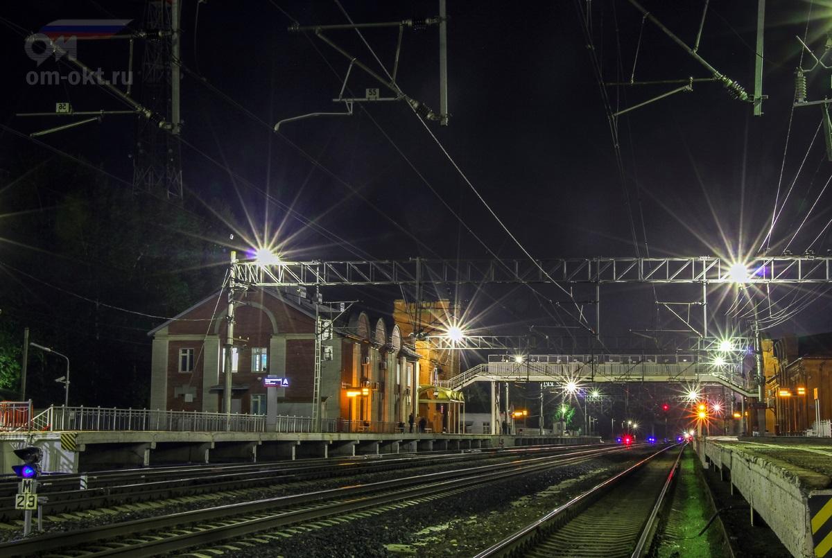 Пассажирские платформы станции Вышний Волочёк