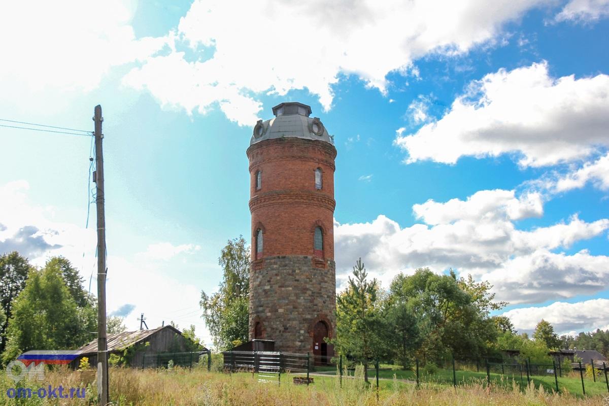 Водонапорная башня на станции Куженкино